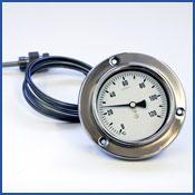 Kaasutäytteinen kapillaari-lämpömittari